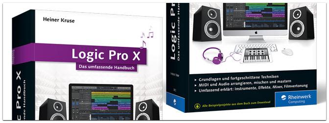 Neues Buch zu Logic Pro X erschienen
