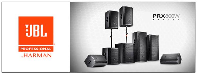 JBL PRX800W PA Lautsprecher Serie
