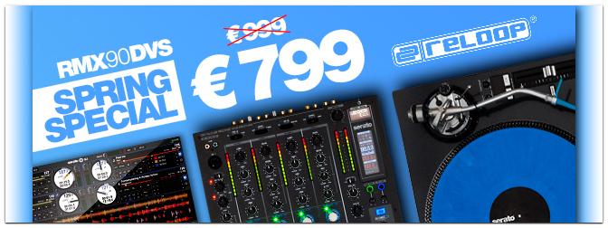 RELOOP Frühlings-Special: RMX-90 DVS – jetzt nur 799 €