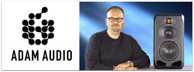 ADAM Audio S3V Aktiver 3-Wege Studiomonitor