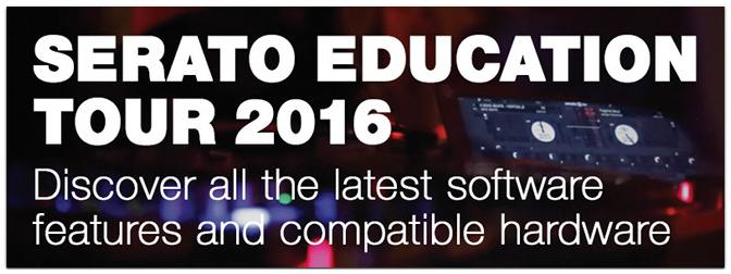 SERATO EDUCATION TOUR 2016 mit Gewinnspiel