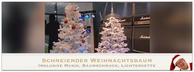 Europalms Schneiender Weihnachtsbaum