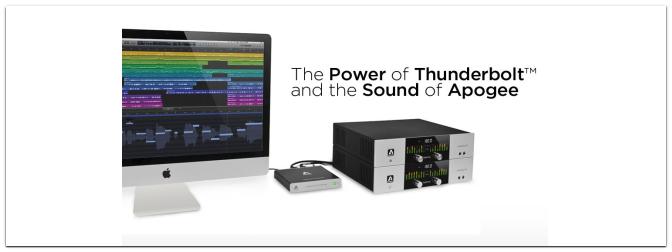 Apogee Thunderbridge Promo bis 31.12.2013