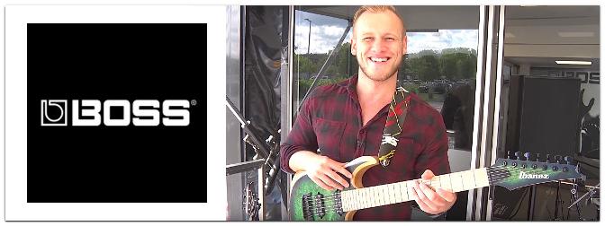 Die neuen BOSS Gitarreneffekte MD-500 + RV-500