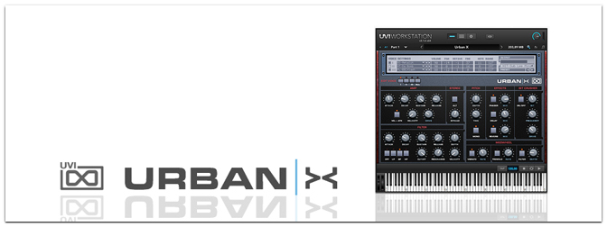 UVI Urban X Sample-Synthesizer