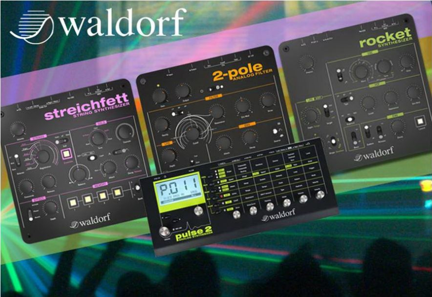 Waldorf Hands On Workshop am 13.12.2014 von 12-15 Uhr im Music Store