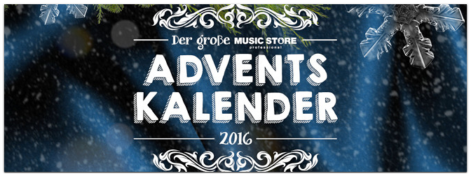 Der MUSIC STORE Adventskalender bei Facebook