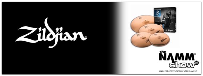 NAMM SHOW 2016 – Zildjian zeigt neue Cymbals und Sticks!